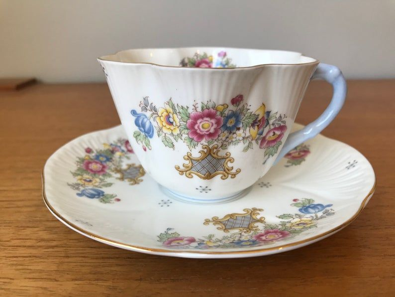 Shelley Dainty Tea Cup and Saucer Collectible 2336