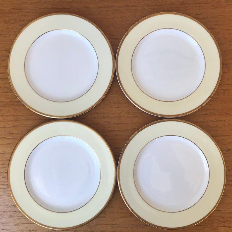 Royal Grafton Elegance Plate set, Bone China Bread and Butter Plates